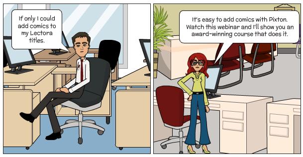 pixton webinar comic graphic