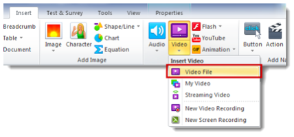 How to Add Closed Captions to Video and Audio in Lectora