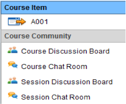 course discussion board