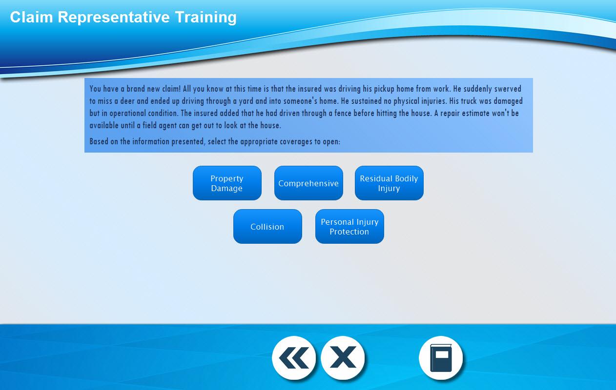 Scenario activity example