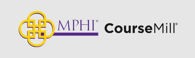 MPHI and CourseMill logos